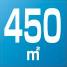 Air flow 450