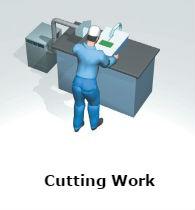 VF-5N AP Cutting Work