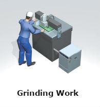 VF-5N Grinding Work