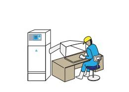 Electronic comp mfg work