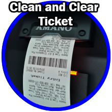 Clean and clear ticket