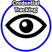 Credential tracking