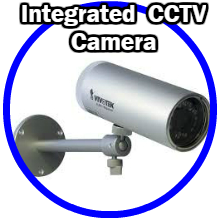 Integrated CCTV Camera
