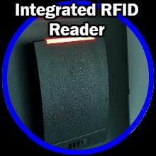 Integrated RFID proximity reader