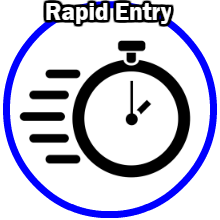 Rapid entry