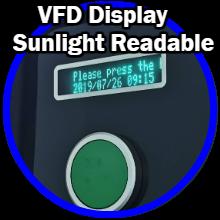 VFD display provide Sunlight Readable